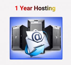 1 Year Hosting Plan